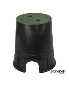"NDS 107BC -  6"" Round ICV Box and Cover"
