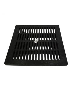 "NDS 1811 - 18"" Catch Basin Grate, Black"