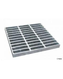 "NDS  1815 - 18"" Square Catch Basin Grate, Galvanized"