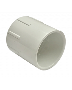 "1 1/2"" Schedule 40 PVC Female Adapter, White, 435-015"