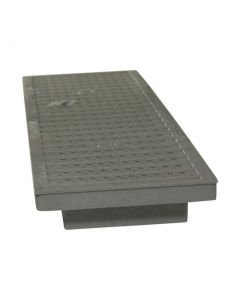 NDS DS-670 - Dura-Slope Plastic Perforated Channel Grate