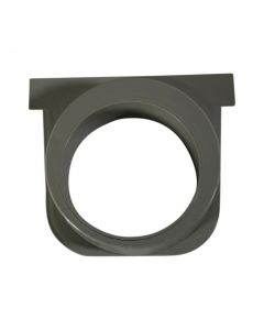 """NDS 811 - 5"""" Deep Profile Channel Drain End Outlet"""