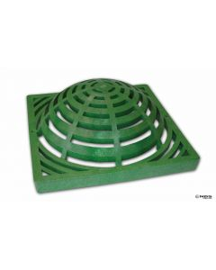"NDS 9"" Square Atrium Grate - Green"