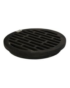 "12"" Round In-line Grate, Ductile Iron"