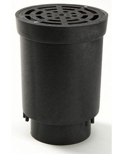 "NDS 4"" Surface Drain Inlet With Grate"
