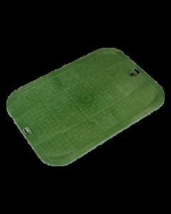 "NDS 113CS - 14"" x 19"" Standard Series - Green Cover, Sewer"