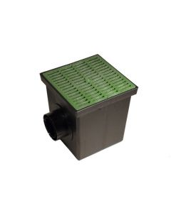 "NDS 1200GRKIT - 12"" Catch Basin Kit (Green Grate)"