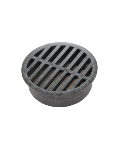 "NDS 11 - 4"" Round Grate, Black"