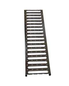 "NDS 824 - 5"" Pro Series Channel Galvanized Steel Grate"