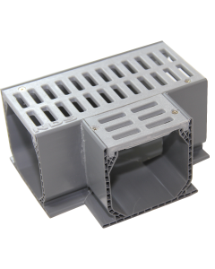 NDS 5370 - Mini Channel Fabricated Tee With Grate