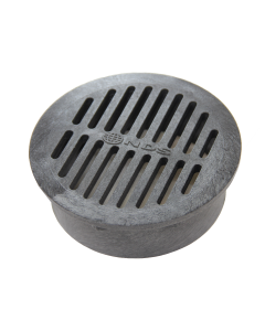 "NDS 40 - 6"" Round Grate, Black"