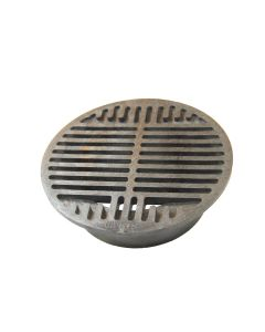 "NDS 8"" Round Grate - Black"