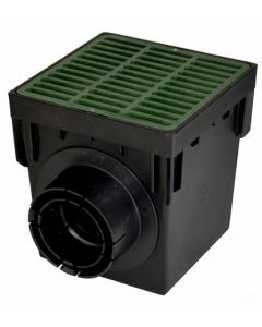 "NDS 900GRKIT - 9"" Catch Basin Kit (Green Grate)"
