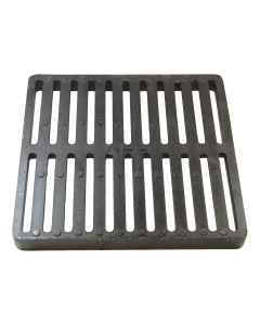 "NDS 1213 - 12"" Square Catch Basin Grate (Cast Iron)"