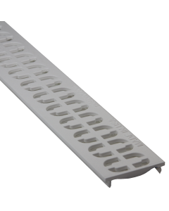 NDS 9261 -  Slim Channel Grate Chain, White