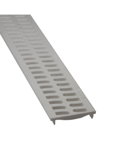 NDS - 9241 Slim Channel Grate, White