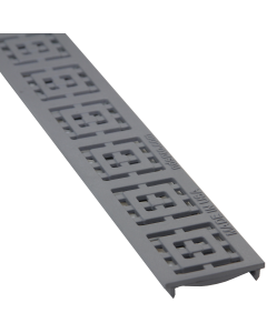 NDS 9253 - Slim Channel Grate Square-Gray