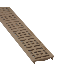 NDS 9252 - Slim Channel Grate Square-Sand