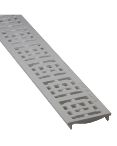 NDS 9251 Slim Channel Grate Square-White