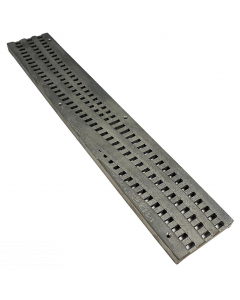 NDS Spee-D Channel Grate, Decorative Wave Cast Iron