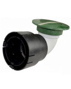 "NDS 430 - 3"" & 4"" Pop-Up Drainage Emitter With Elbow And Universal Adapter"
