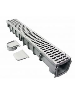 "NDS 864 - 5"" Pro Series Channel Drain Kit"