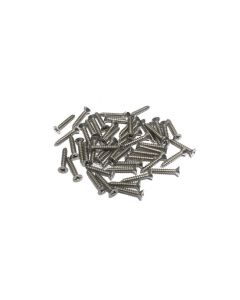Mini Channel Screws - 50 Count