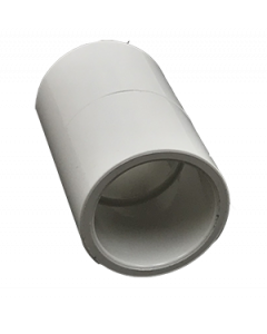 "3/4"" Schedule 40 PVC Coupling, White, 429-007"