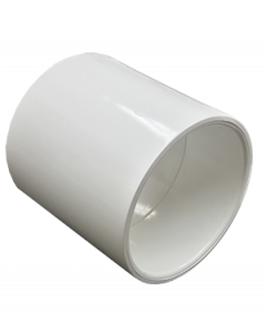 "3"" Schedule 40 PVC Coupling, White, 429-030"