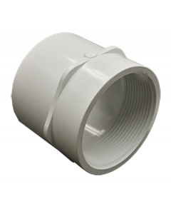 "3"" Schedule 40 PVC Female Adapter, White, 435-030"