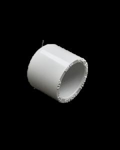 """1/2"""" Schedule 40 PVC Cap, White, 447-005"""