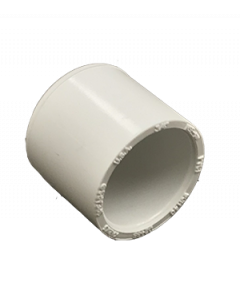 "3/4"" Schedule 40 PVC Cap, White, 447-007"