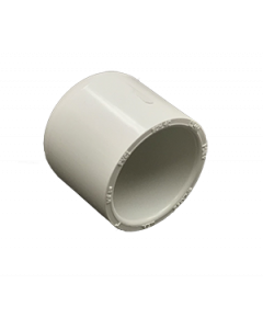 "1"" Schedule 40 PVC Cap, White, 447-010"