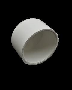 """2"""" Schedule 40 PVC Cap, White, 447-020"""