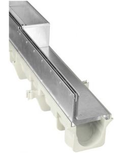NDS Dura Slope Slot Top Galvanized Grate