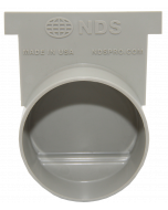 """NDS 713 - 3"""" Pro Series End Cap/End Outlet"""