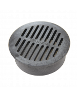 """NDS 40 - 6"""" Round Grate, Black"""