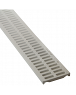 NDS 540 - NDS Mini Channel Grate, White
