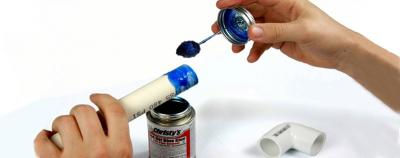 How to glue PVC Fittings