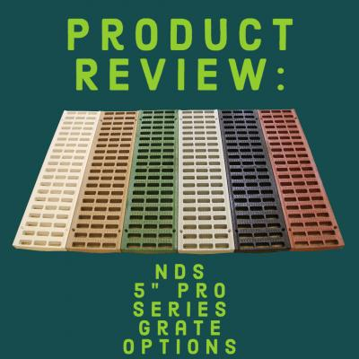 "Product Review: 5"" Pro Series Grate Options"